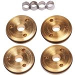 Flash Point 12mm Brass 1/10th Shock Piston (4) (3x1.3mm)