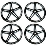 GForce 1/10th TC Setup Wheel (Black) (4)