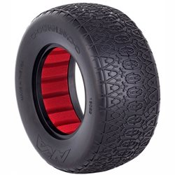 AKA Racing Chain Link Wide Short Course Tires (2).