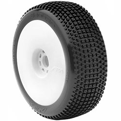 AKA Enduro 1/8th scale Pre-mounted Buggy Tires (2).