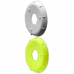 AKA EVO 1/8th Wheel Stiffener (4)  (White,Yellow)