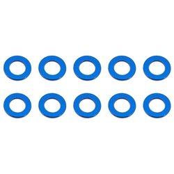 Team Associated M5.5 x 0.5mm Aluminum Ball Stud Washer (Blue) (10)
