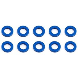 Team Associated M5.5 x 1.0mm Aluminum Ball Stud Washer (Blue) (10)