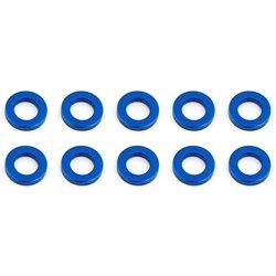Team Associated M5.5 x 1.0mm Aluminum Ball Stud Washer (Blue) (10)