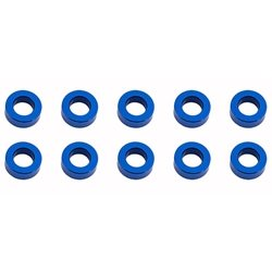 Team Associated M5.5 x 2.0mm Aluminum Ball Stud Washer (Blue) (10)
