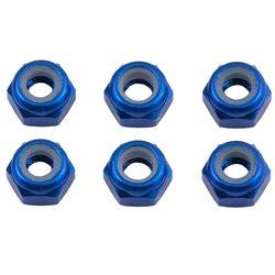 Team Associated Factory Team M3 Aluminum Lock Nut (6)