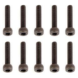 Team Associated M2.5 x 12mm Socket Head Hex Screw (10)