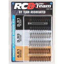 Team Associated Front Spring Set: (RC8/RC8B)