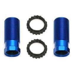 Team Associated 13mm Shock Body, 26mm, blue