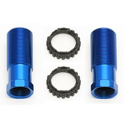 Team Associated 13mm Shock Body, 30mm, blue
