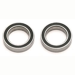 Team Associated Bearing, 12 x 18 x 4mm, rubber sealed (2)