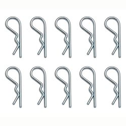 Team Associated 1.3mm Body Clip Set (10)