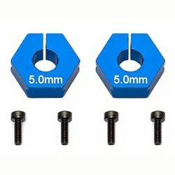 Team Associated Factory Team 5.0mm Clamping Wheel Hexes (2)