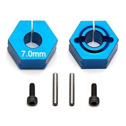 Team Associated Factory Team 7.0mm Clamping Wheel Hexes (2)