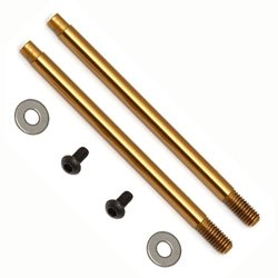 Team Associated Factory Team 3 x 27.5mm V2 Ti-Nitride Shock Shafts (2)