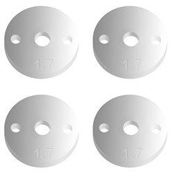 Team Associated Factory Team 12mm Pistons (2x1.7mm/Flat) (4)