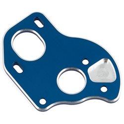 Team Associated B6.1 Aluminum Laydown Motor Plate (Blue)