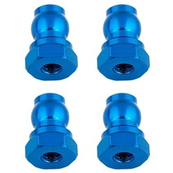 Team Associated Aluminum Shock Bushings (4) 10mm/Blue