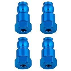 Team Associated Aluminum Shock Bushings (4) 14mm/Blue