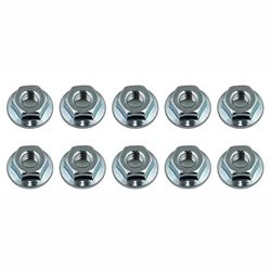 Team Associated M4 Serrated Wheel Nuts (10)