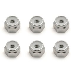 Team Associated 8-32 Aluminum Locknut (6)