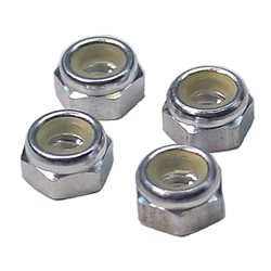 CRC Aluminum 4-40 thread Locknuts (4).