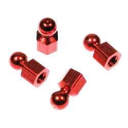 CRC Anodized Aluminum Hex Balls for 1-Piece Side Links