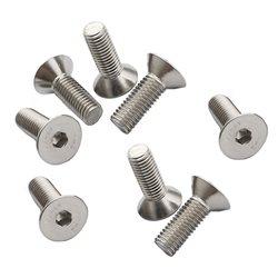 CRC 3x8mm Stainless Steel Flat Head Screws (8 ).