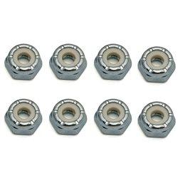 CRC 3mm Steel Locknuts (8).