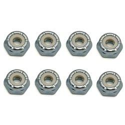 CRC 4mm Steel Locknuts (8).