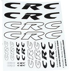 CRC Body Decals (Black/White).
