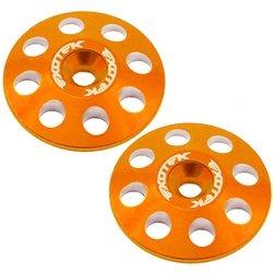 Exotek 22mm 1/8 XL Aluminum Wing Buttons.