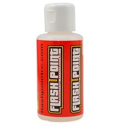 Flash Point Racing Silicone Shock Oil (75ml) (300cst to 900cst)