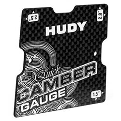 Hudy Graphite 1/10 Touring Quick Camber Gauge
