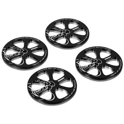 Hudy Aluminum Set-Up Wheel (1/10 Touring Car) (4)