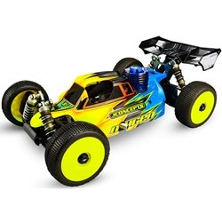 JConcepts Silencer Body (LtWt, StdWt) (Clear) (MBX7,MBX8)