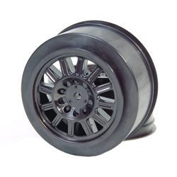 JConcepts Rulux Short Course Wheels (Black) (2) (Not Hex)