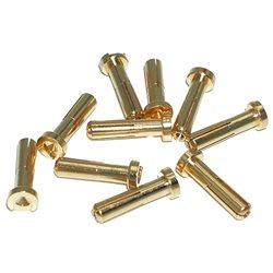 Maclan Max Current 4mm Gold Bullet Connectors (10)