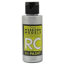 Mission Models Racing Silver Acrylic Paint (2oz)