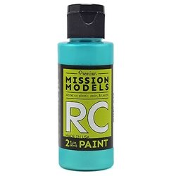 Mission Models Iridescent Teal Acrylic Paint (2oz)