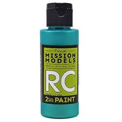 Mission Models Iridescent Turquoise Acrylic Paint (2oz)