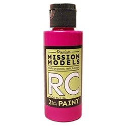 Mission Models Fluoresent Racing Berry Acrylic Paint (2oz)