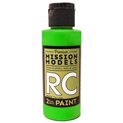 Mission Models Flourescent Racing Green Acrylic Paint (2oz)