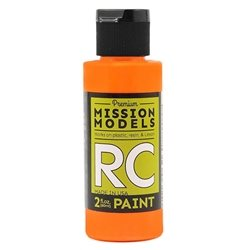 Mission Models Flourescent Racing Bright Orange Acrylic Paint (2oz)