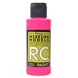Mission Models Flourescent Racing Pink Acrylic Paint (2oz)
