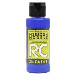 Mission Models Translucent Blue Acrylic Paint (2oz)