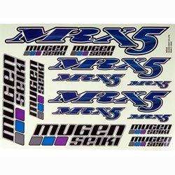 Mugen Seiki Decal Sheet (MRX5)