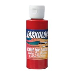 Parma PSE FasLucent Red Faskolor Lexan Body Paint (2oz).