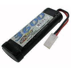 Racers Edge Sport 6 Cell NiMH 3600mAh Battery w/Tamiya Connector