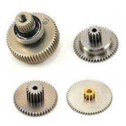Savox SC1258TG Titanium Gear Set w/Bearing.